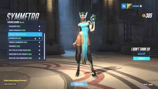 Overwatch Japanese Voice Lines - Symmetra