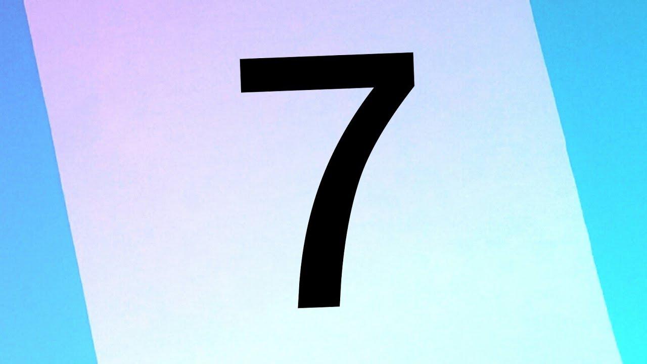 Como transformar o Número 7 em um PINGUIM 🐧