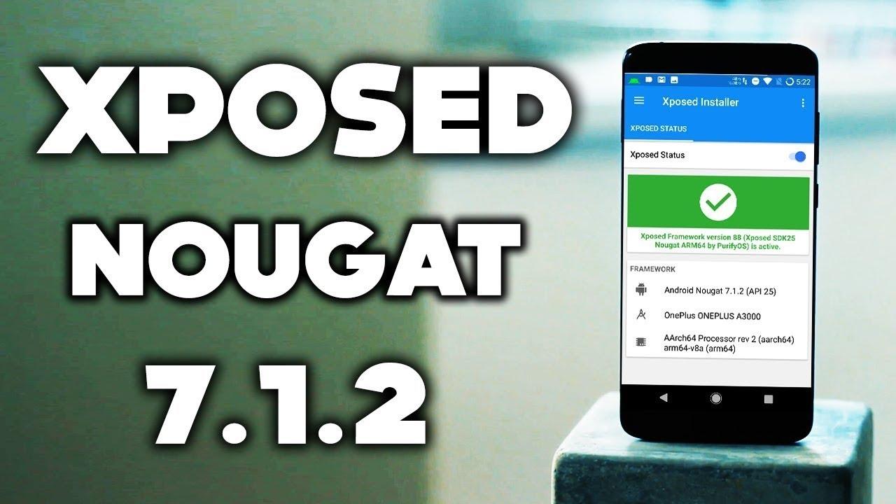 xposed framework apk for nougat