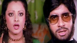 Amitabh Bachchan narrates story to Rekha | Do Anjaane | Bollywood Scene 21/31