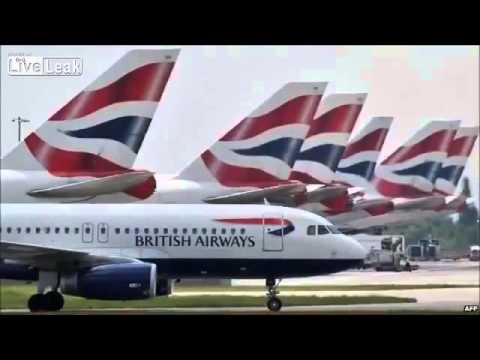BREAKING NEWS - British Airways Suspends Flights over Iraq