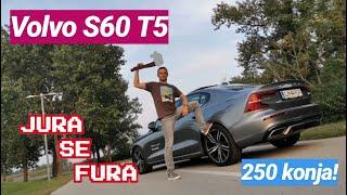 Kockast i dobar. Volvo S60 T5 - Jura se fura!
