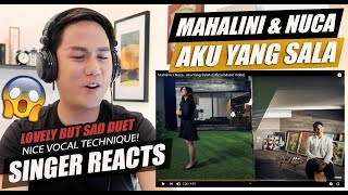 Mahalini x Nuca - Aku Yang Salah (Official Music Video) | SINGER REACTION