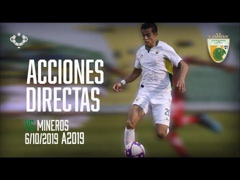 Acciones Miguel Guzman Vs Mineros AscensoMx A2019