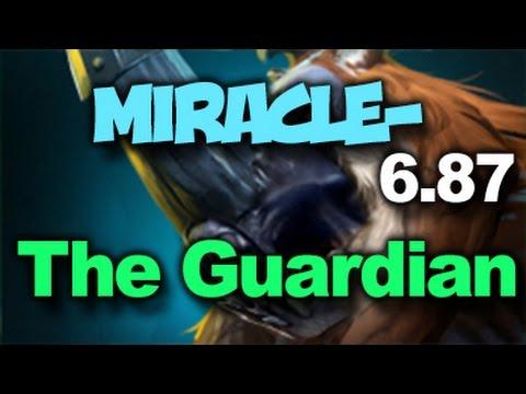 Miracle- Magnus The Guardian Rage Dota 2 Rank Match Gameplay