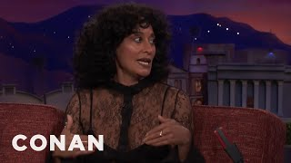 Tracee Ellis Ross Got Upstaged By Ariana Grande At The Met Gala  - CONAN on TBS