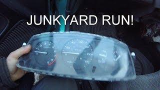 Vlog Rant. Civic EG Gauge Cluster Swap. Junkyard Trip!