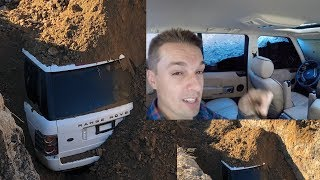 I Buried My Broken Range Rover (with Me inside)