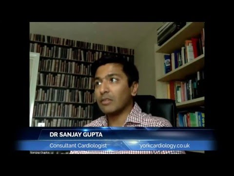 Dr Sanjay Gupta - York Consultant Cardiologist explains about Palpitations