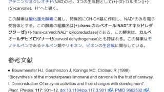 「(+)-trans-カルベオールデヒドロゲナーゼ」とは ウィキ動画