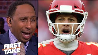 Stephen A. reacts t๐ Patrick Mahomes and the Chiefs scoring 51 points on the Texans | First Take