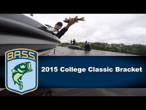 2015 College Bass Classic Bracket