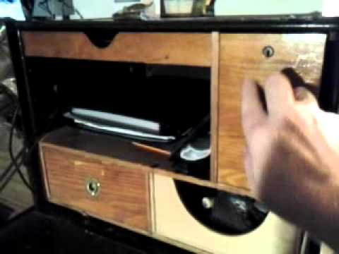 "A WWII U. S. Army ""Field Desk"" - YouTube"