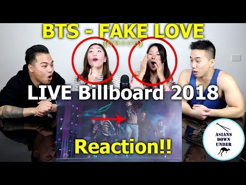 Asians watch BTS (방탄소년단) 'FAKE LOVE' - 2018 Billboard Music Awards | Reaction - Australian Asians