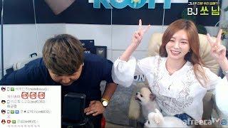 170824 [1] BJ 쏘님, 세계최초 합동방송을 하다! 그녀의 매력은 어디까지? - KoonTV thumbnail