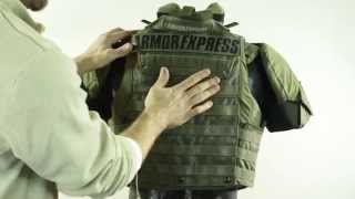 Armor Express Tactical Vest - Lighthawk XT - Features and Options