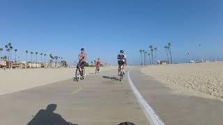 Southern California Beach Bike Ride-  Long Beach