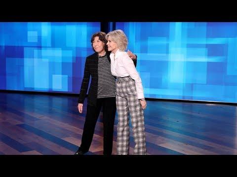 Lily Tomlin & Jane Fonda Find Out Who's Ellen's Favorite