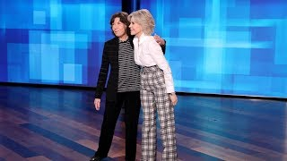 Lily Tomlin & Jane Fonda Find Out Who's Ellen's Favorite