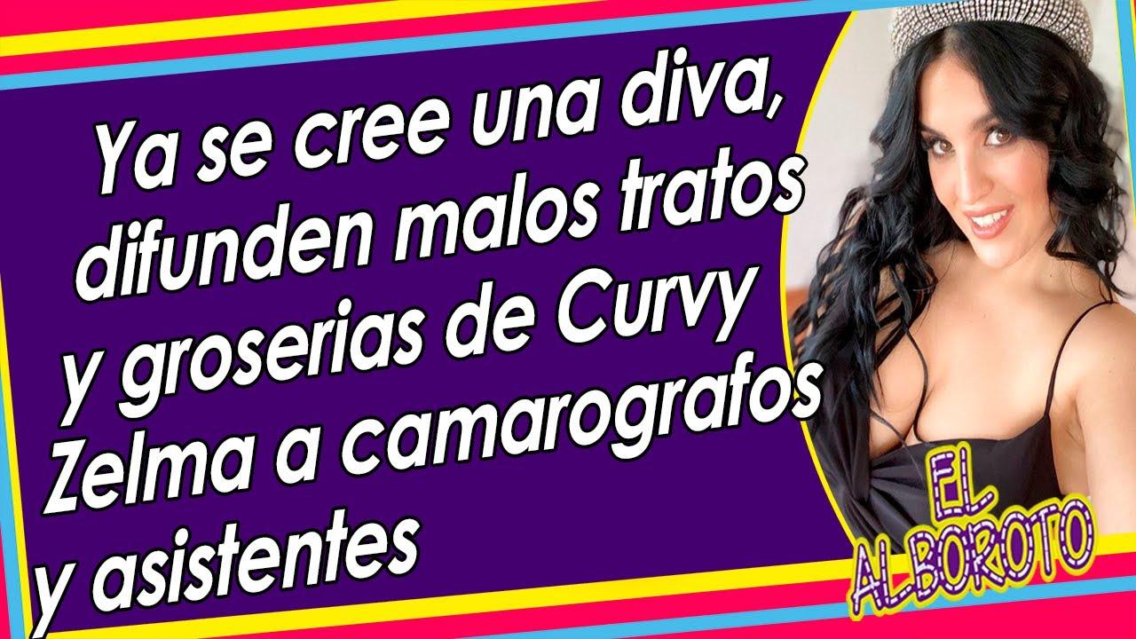 Download Ya perdió piso, Curvy Zelma maItrata a personal de producción de TV Azteca