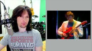 British guitarist reacts to Allan Holdsworth's EXTRATERRESTRIAL playing!