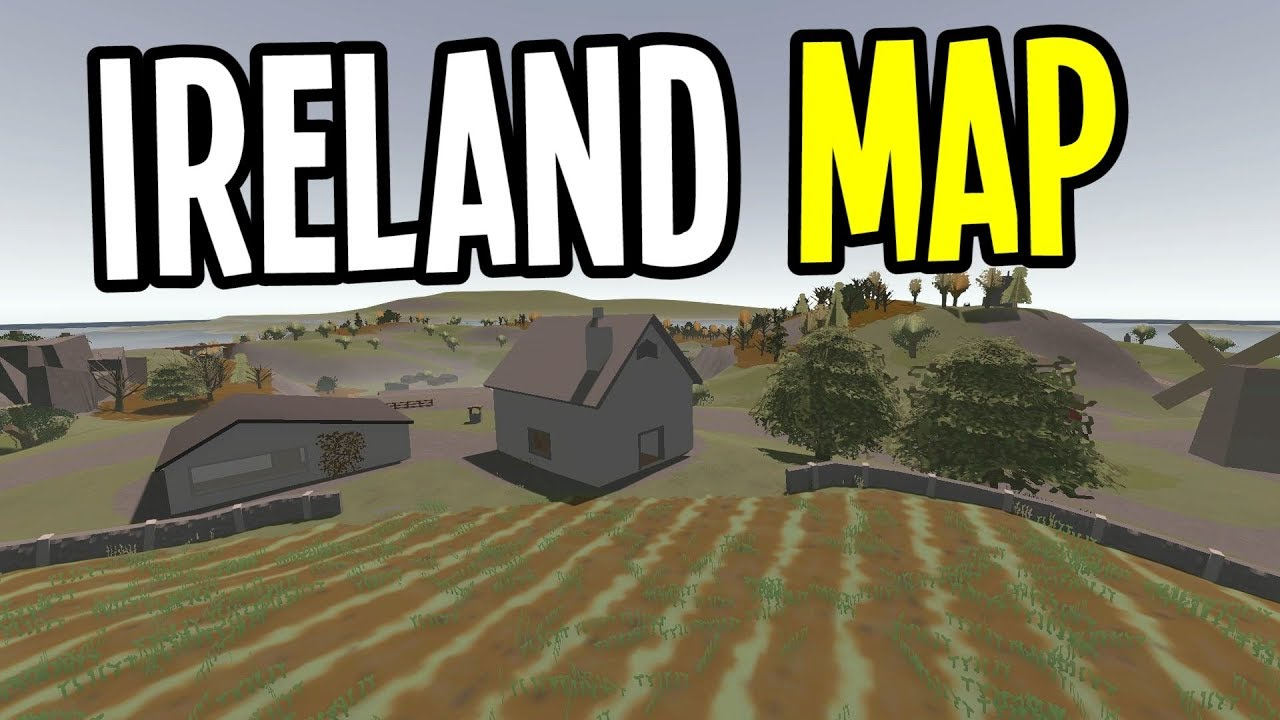 Youtube Map Of Ireland.Unturned New Ireland Map Server Ireland Map Multiplayer Episode 1