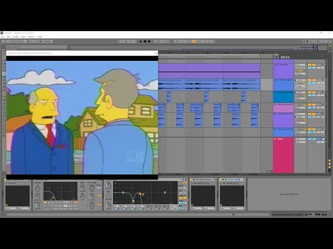 Making A Techno Groove With Nothing But Steamed Hams
