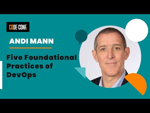 Five Foundational Practices Of DevOps - Andi Mann From Splunk