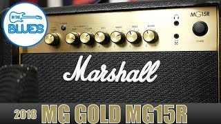 Marshall MG15R Practice Amplifier Review [MG GOLD]