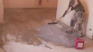 видео Технология заливки наливного пола: подготовка основания, устройство покрытия