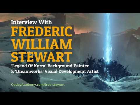 Interview With 'Korra' and 'Dreamworks' Artist, Frederic William Stewart :: ArtCast #95
