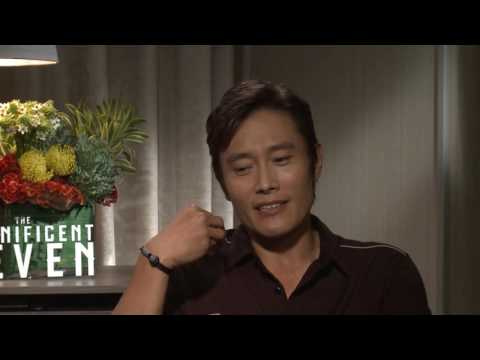 THE MAGNIFICENT SEVEN: Backstage with Ethan Hawke & Byung Hun Lee