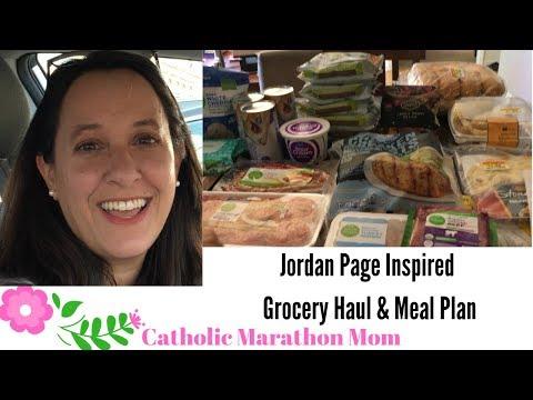 Jordan Page Inspired Grocery Haul & Meal Plan