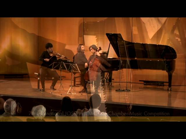 Trio Zadig // Haydn - Trio in C Major, No. 43 (Hob XV: 27)