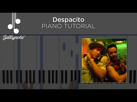 Despacito Luis Fonsi ft Justin Bieber - Easy Piano Chords Tutorial