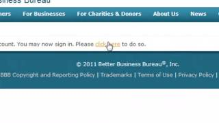Claiming Your BBB Business Review