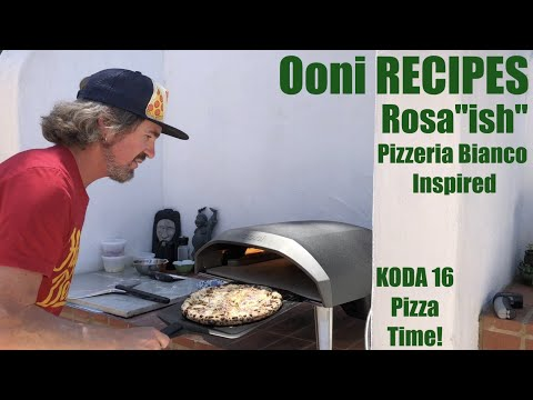 "Ooni Koda 16 | Pizzeria Bianco Inspired Rosa""ish"" Recipe [Sourdough Pizza]"