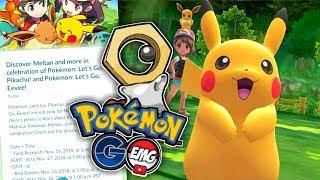 Pokemon GO & Let's GO! MELTAN MASHUP!