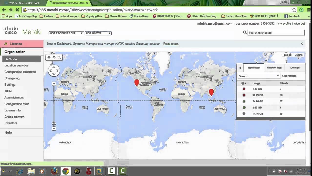 Configure Authentication User login on Splash page MERAKI CISCO