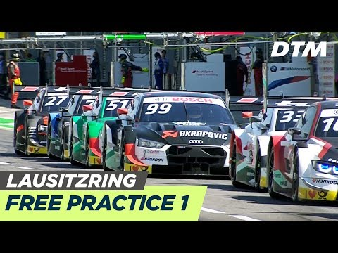 Free Practice 1 - 🔴LIVE (Deutsch) - DTM Lausitzring 2019