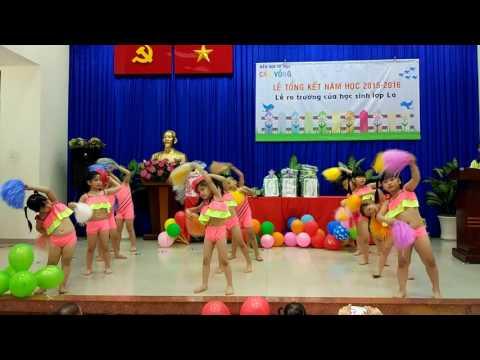 Yury Thiên Di múa Aerobic