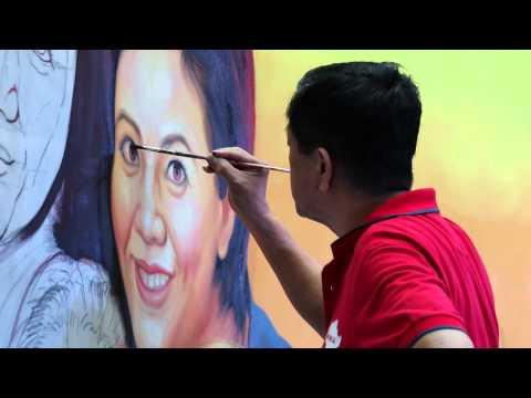 Singapore Movie Poster Artist Mr Ang Hao Sai