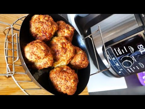 ninja-foodi-max-deluxe-meatballs-boulettes-de-viande-smiling-cooking-with-benji-english-français