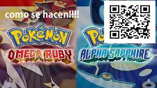 Como hacer los codigos QR para conseguir pokemons!!!!