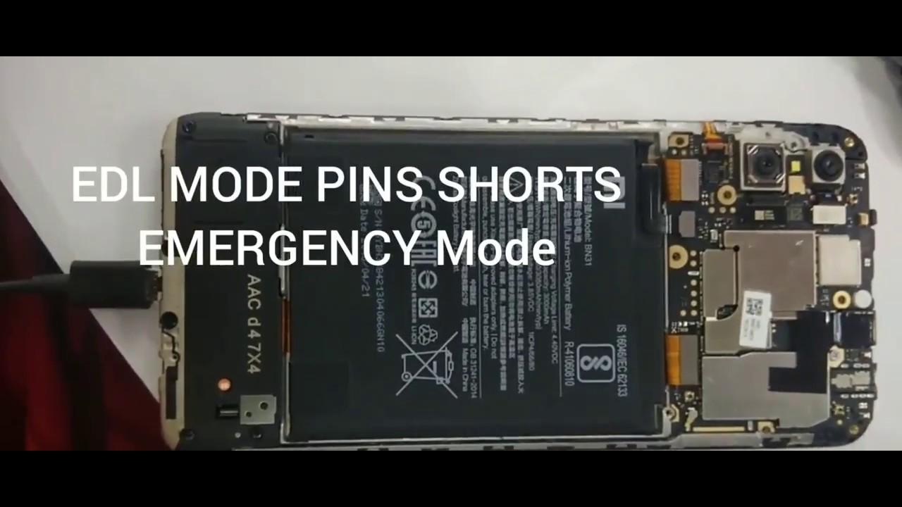 Redmi Y2 Redmi s2 flashing 9 5 9  0 EDL MODE EMERGENCY