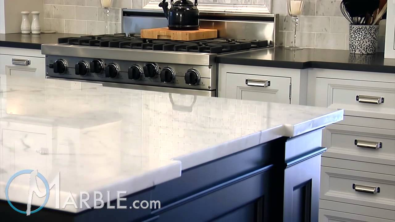 Statuarietto Marble And Absolute Black Granite Kitchen Countertops By Youtube