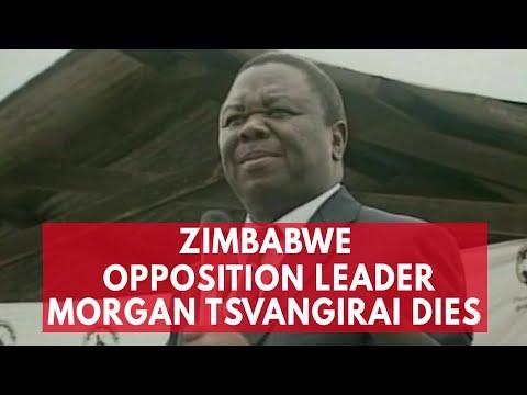 Popular Zimbabwe opposition leader Morgan Tsvangirai dies in South Africa