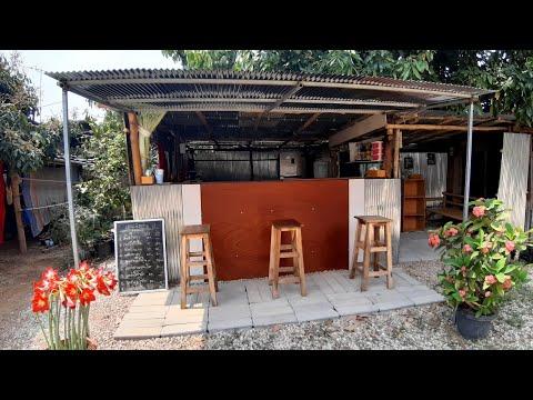 ทำร้านกาแฟในงบหลักหมื่นนิดๆ ร้านกาแฟสไตล์โฮมคาเฟ่ แมกไม้คาเฟ่ ณ ภูกามยาว (At home) ย้ายร้านมาที่บ้าน