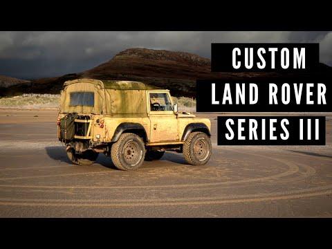 Simon's Fully Custom Land Rover Series 3