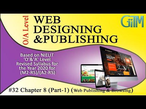 #32 Chapter-8 (Part-1) Web Publishing & Browsing O Level | A Level GIITM